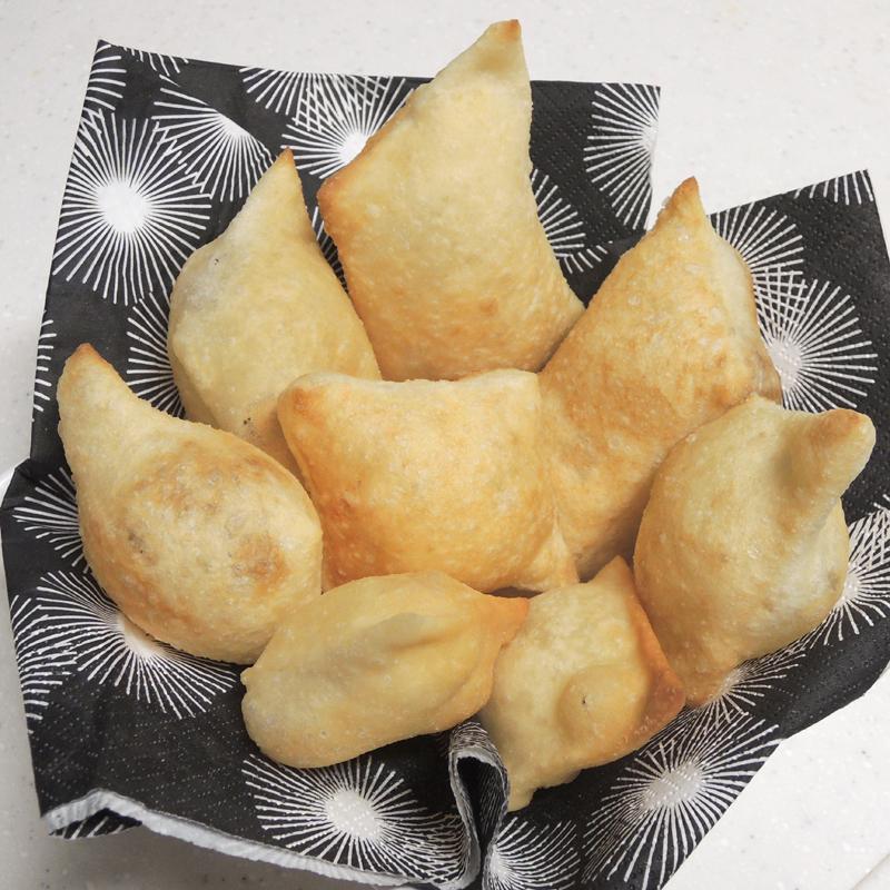 ニョッコフリット(イタリア、エミリア地方の揚げパン)