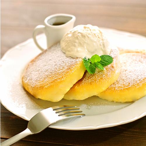 ホットケーキミックスで簡単ふわふわ幸せパンケーキ