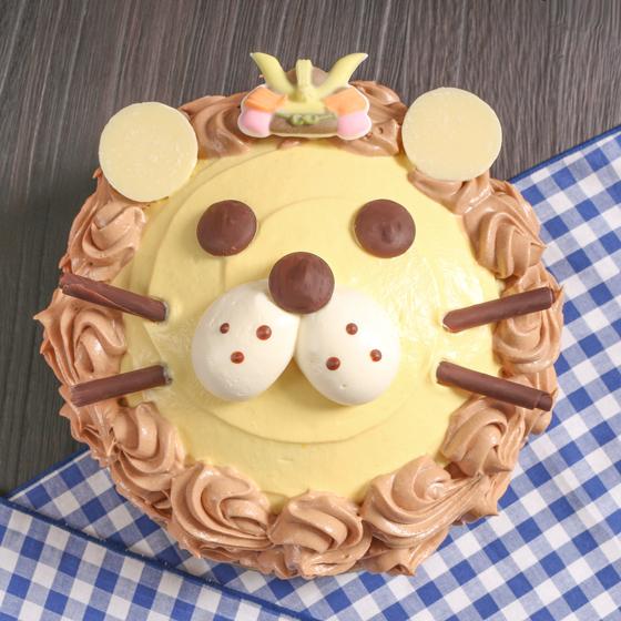 らいおんケーキ