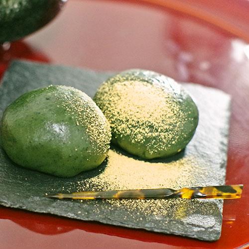 レンジで簡単ヘルシーお豆腐よもぎ餅