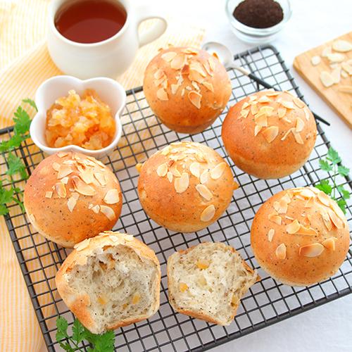 レモンとアールグレイのパン