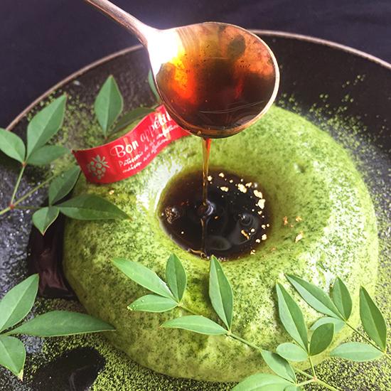 エンゼル型でつくる 濃厚抹茶のリングムース
