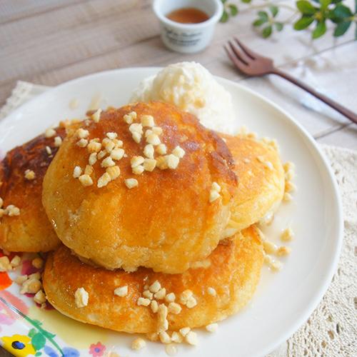 ジューシー!ダブルバターパンケーキ