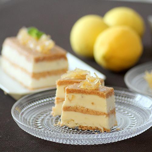 アイスボックスレモンチーズケーキ