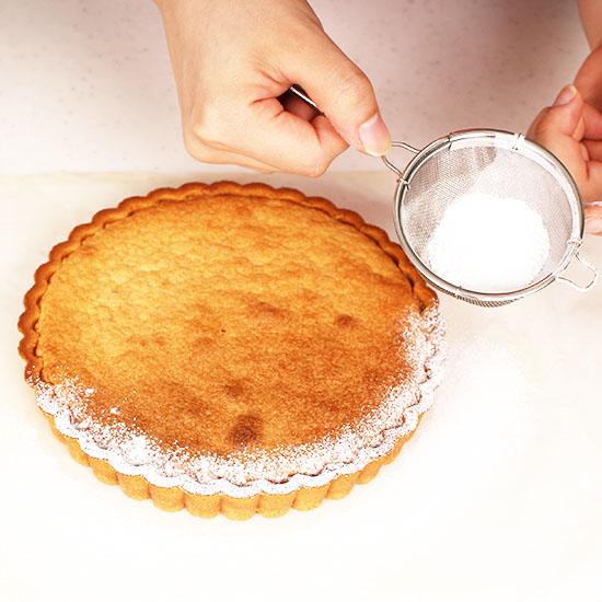 アーモンドクリームのタルト台