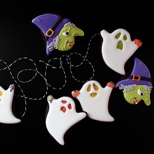ゴーストクッキー(アレンジ:魔女)