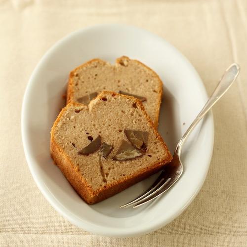 米粉のマロンパウンドケーキ