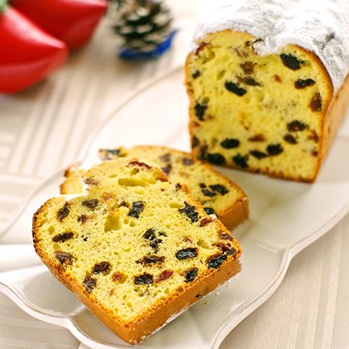 シュトーレン風味の簡単しっとりパウンドケーキ