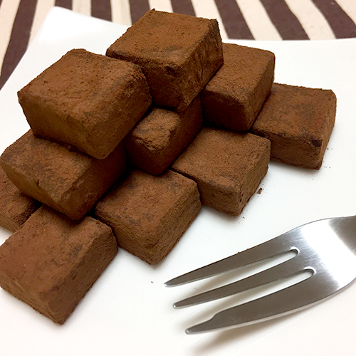 石畳の生チョコ