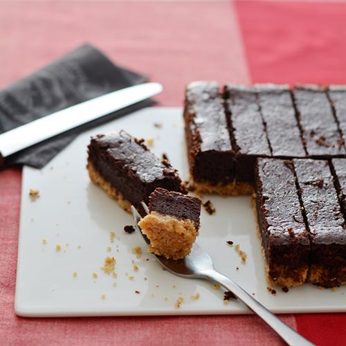 ベイクドチョコケーキ