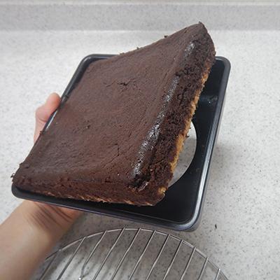 ベイクドチョコケーキ6