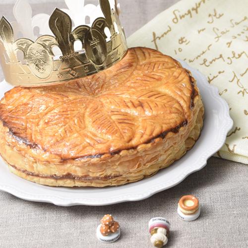 新年を祝う王様のお菓子 ガレット・デ・ロワ