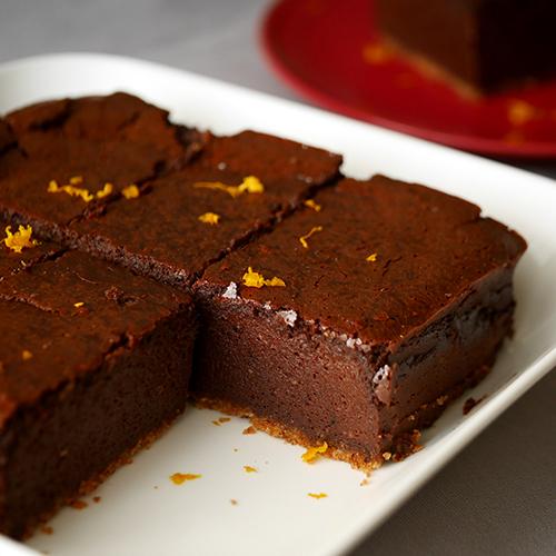 濃厚チョコレートチーズケーキ