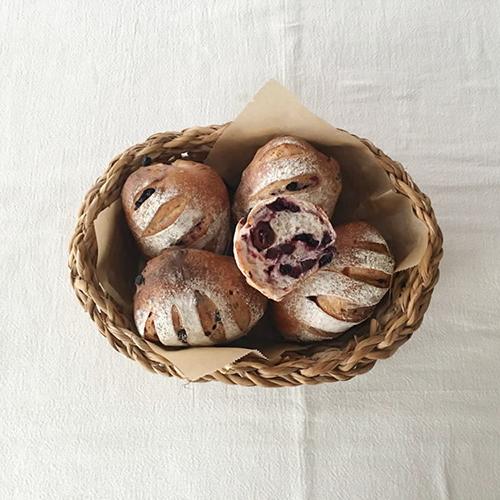 3種のベリーのパン