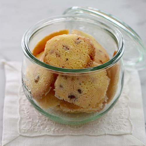 米粉で作る桜のマーブルクッキー