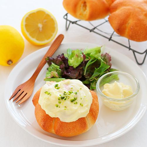 レモンとマスカルポーネのパン
