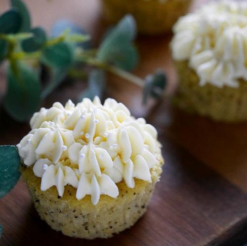 ポピーシードとレモンのカップケーキ