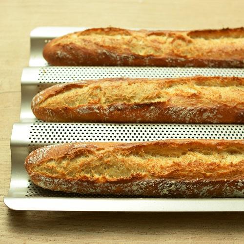 フランスパン天板で作る バゲットカンパーニュ