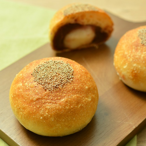 白玉の入ったフランスあんパン