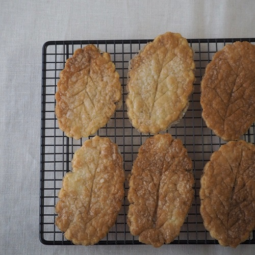 米粉のリーフパイ