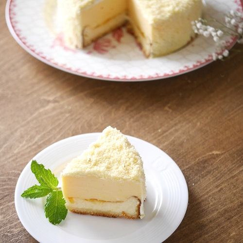 本格ダブルチーズケーキ