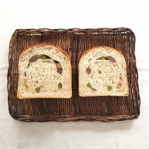 甘納豆の食パン