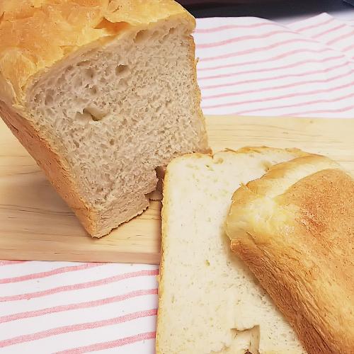 糖質オフでもふんわり♪おからパウダー入り食パン(HB使用)