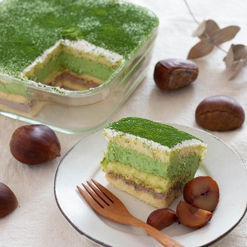 時短レシピ☆抹茶のスコップケーキ