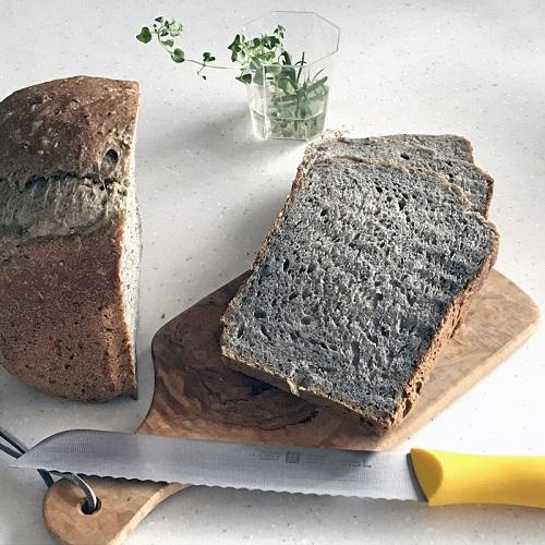 ホシノ酵母で作る 黒ゴマ食パン <HB編>