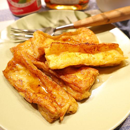 ロカボレシピ♪棒寒天のフレンチトースト