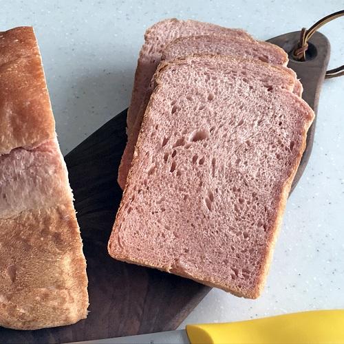 ホシノ酵母で作る 紅麹食パン <HB編>