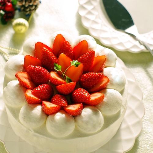 低糖質&グルテンフリーでクリスマス♪大豆粉のショートケーキ