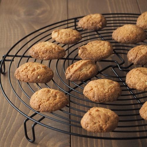 米粉のピーナッツバタークッキー