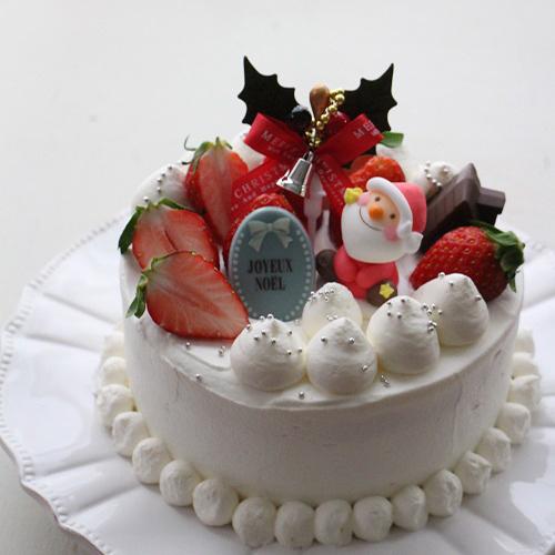 王道!基本のクリスマスケーキ