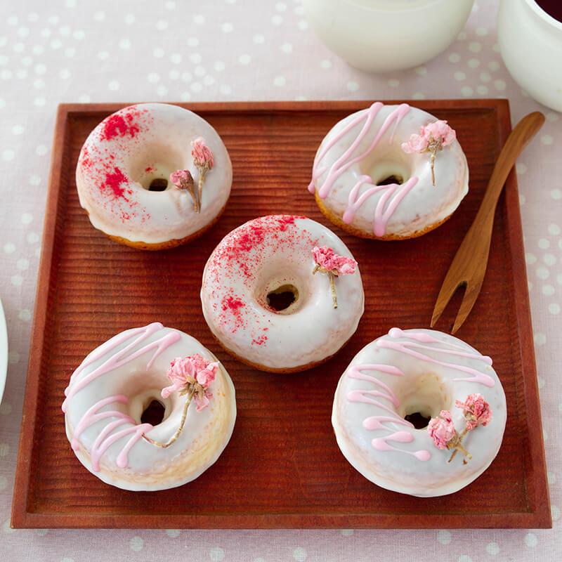 桜のドーナツ