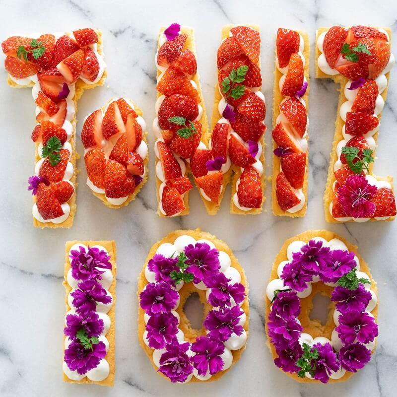 【100周年特別レシピ】フルーツオープンロールケーキ