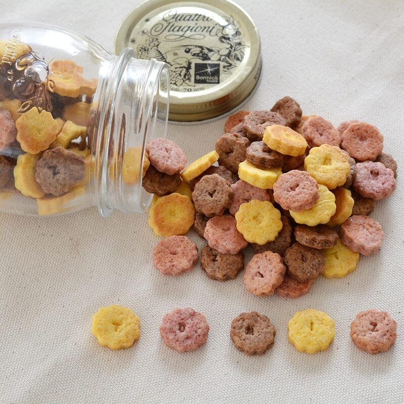 【100周年特別レシピ】TOMIZ100ピースミニクッキー
