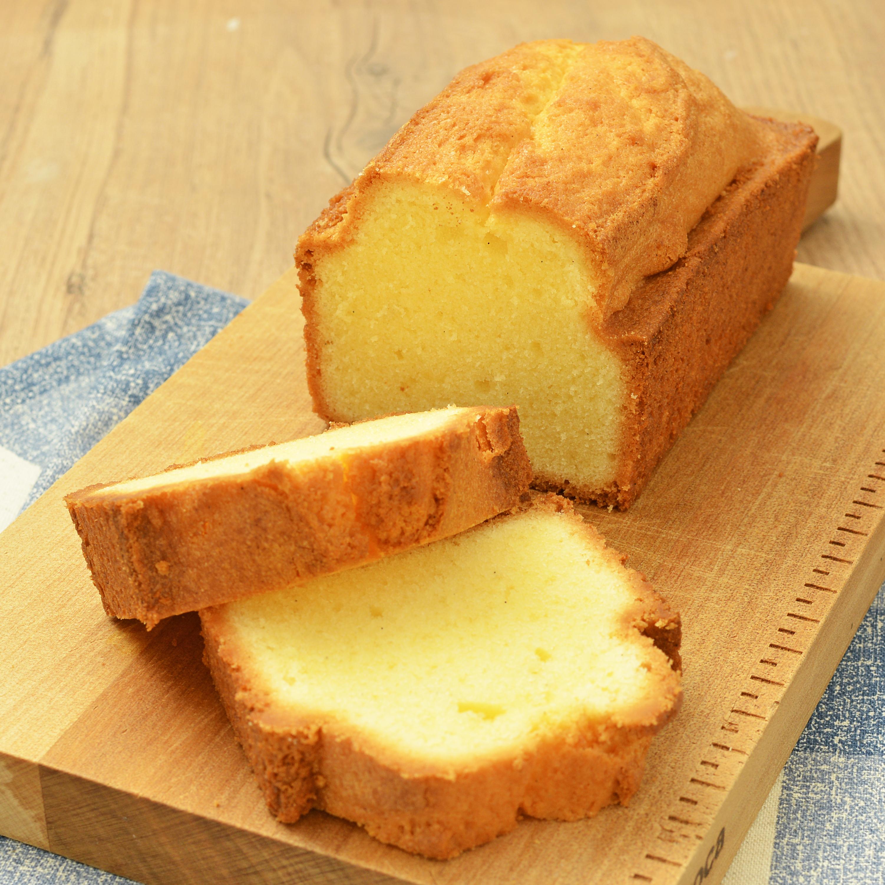 ミズホチカラのパウンドケーキ