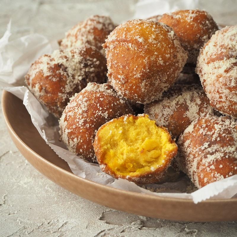 米粉のかぼちゃもっちりドーナツ
