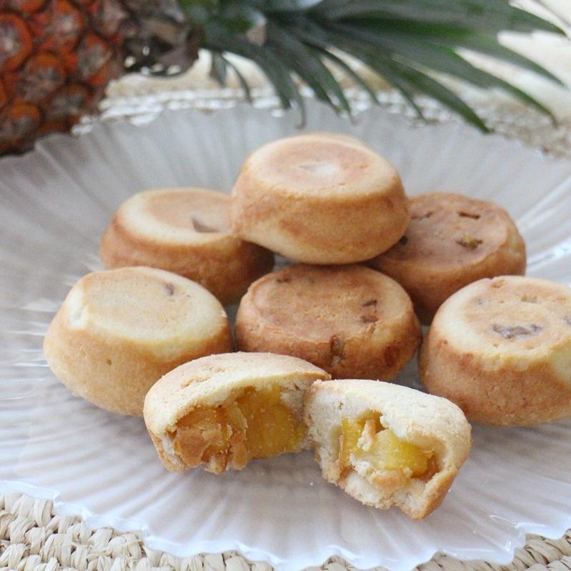 さっくり!しっとり!おうちで作れる!パイナップルケーキ