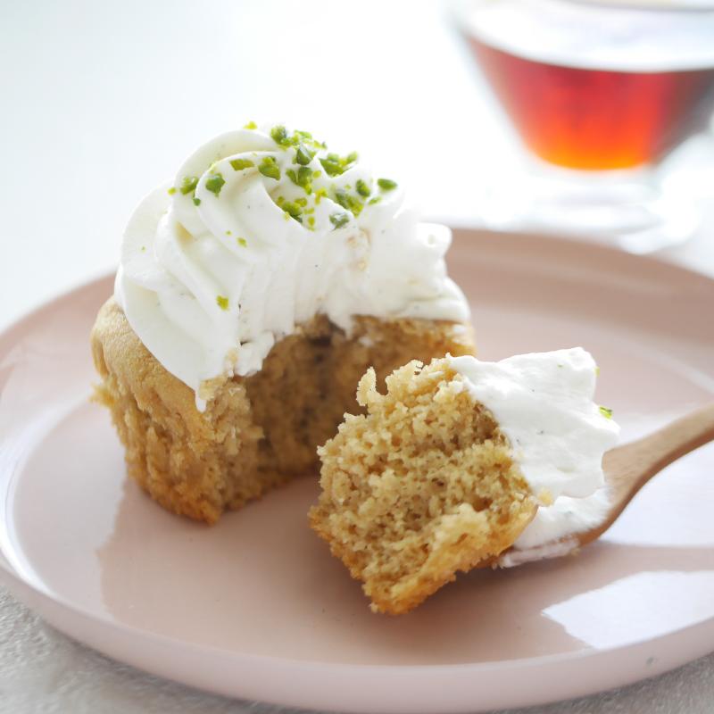 【低糖質レシピ】メープルシロップとバニラの低糖質カップケーキ