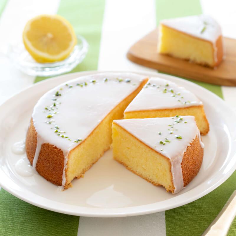 ふんわり口溶けのレモンケーキ