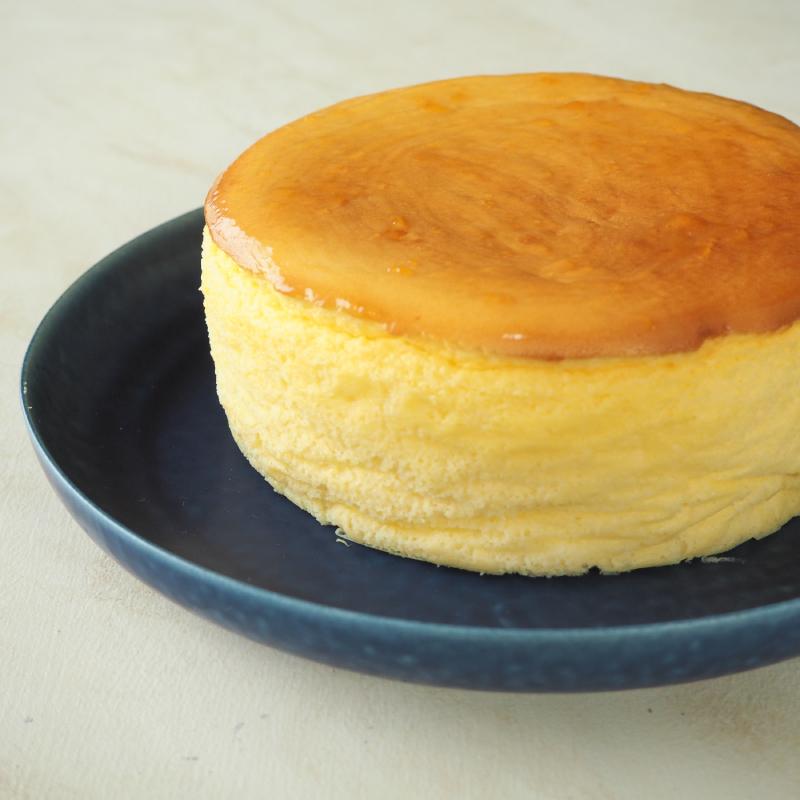 米粉のスフレチーズケーキ