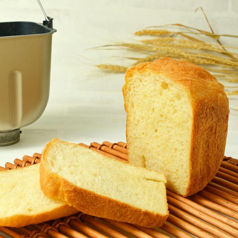 春よ恋プレミアム100%で作る 基本の食パン (ホームベーカリー用)