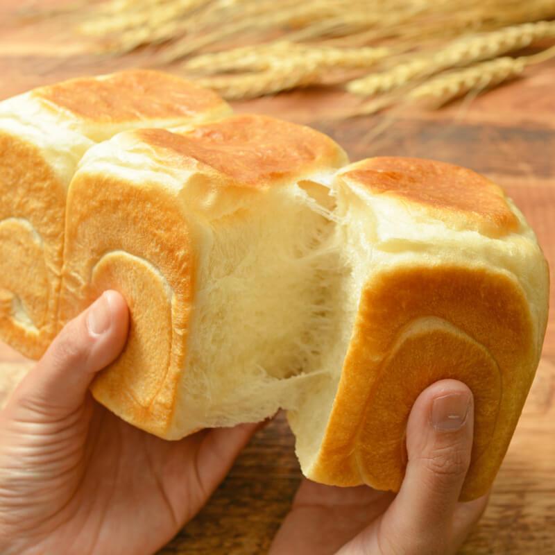 春よ恋プレミアム100%で作る ミミまで柔らか生食パン