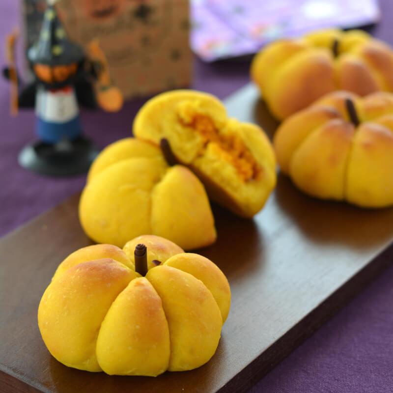 かぼちゃパン(かぼちゃあん入り)