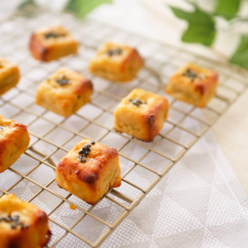 【低糖質レシピ】簡単スイートポテト