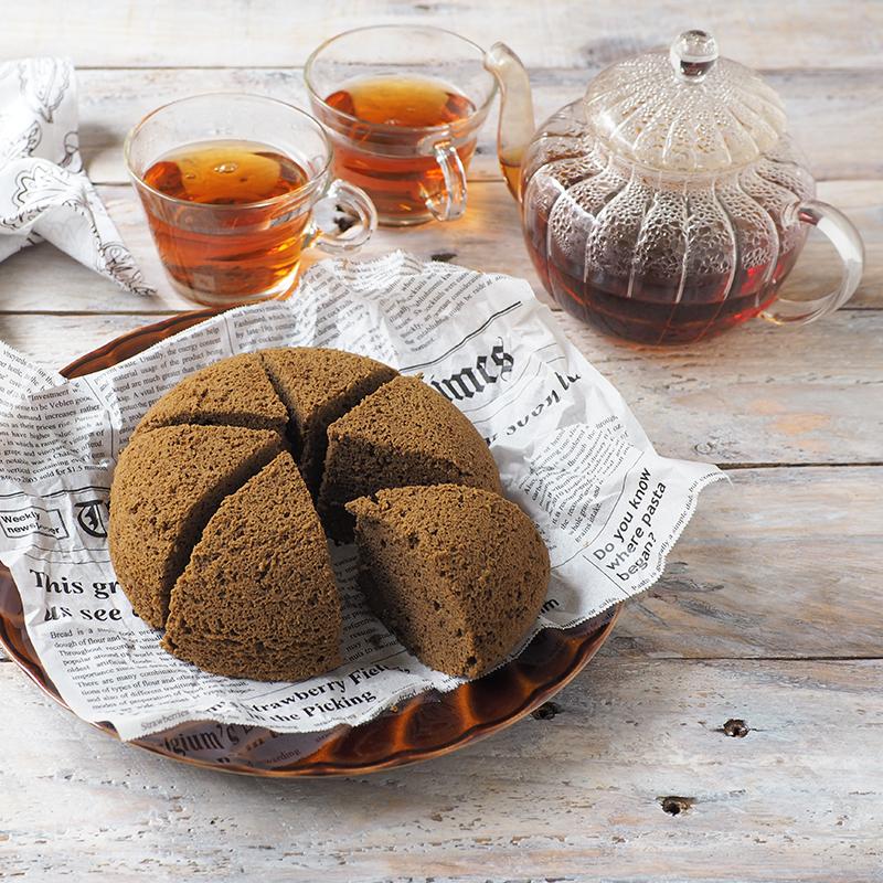 レンジで簡単!低糖質おから蒸しパン〜紅茶風味
