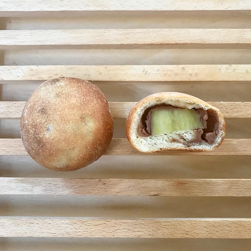 いきなりだんご風 芋栗パン
