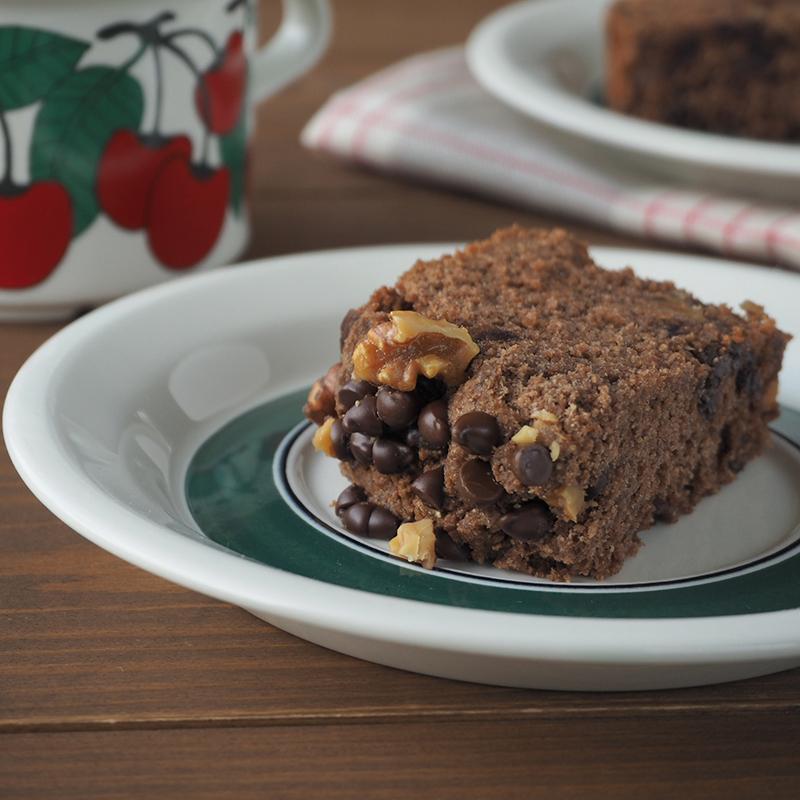 ホームベーカリーで作るおからチョコ米粉ケーキ